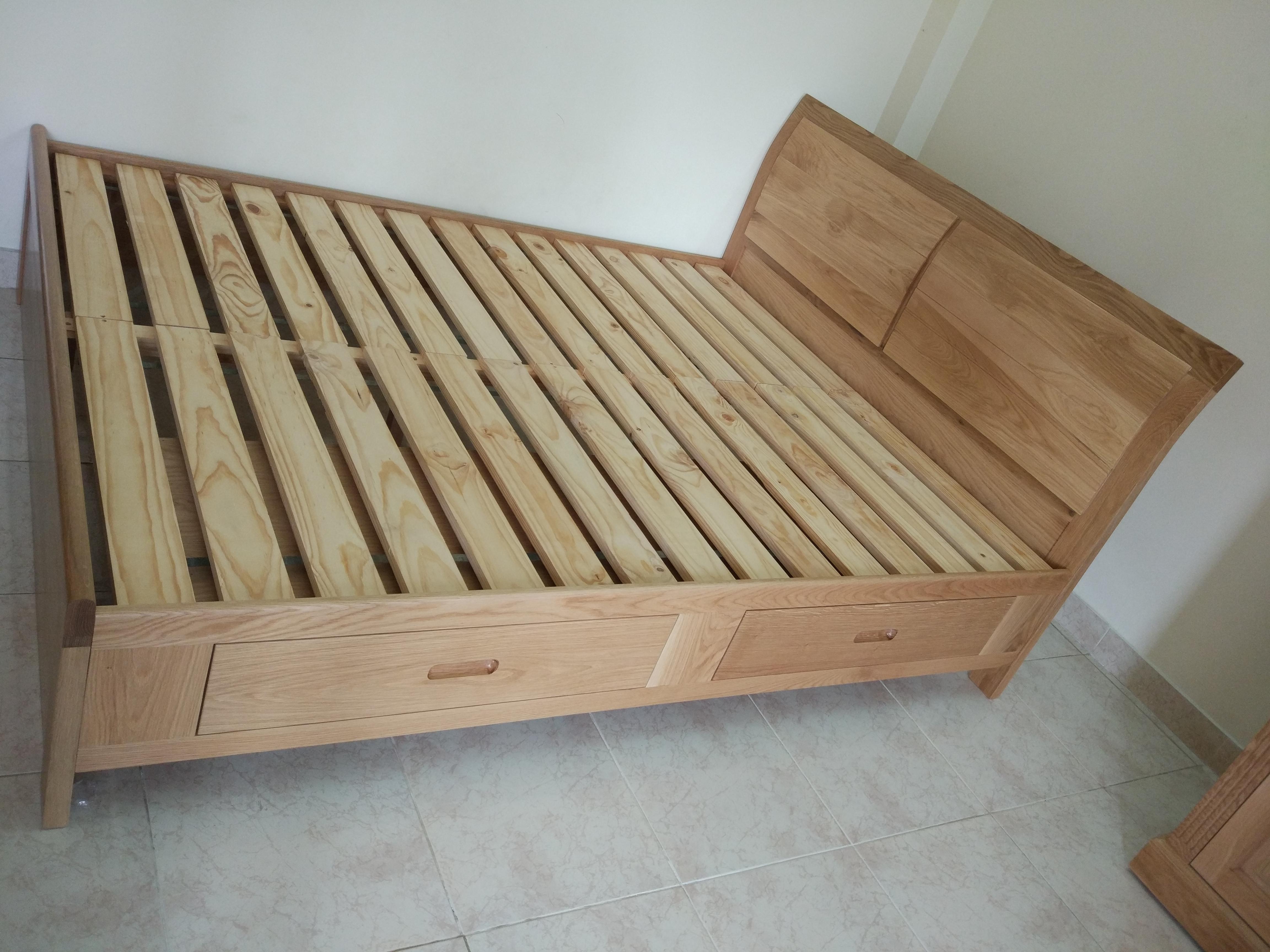 Giường Hộc Kéo 1.6*2m